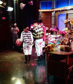 The Kentucky Derby party on Good Day NY has begun!