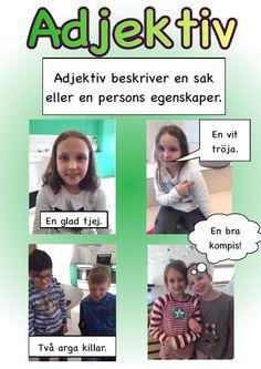 svenska | skolfröken fräken Learn Swedish, Swedish Language, Language And Literature, Future Jobs, Second Language, Working With Children, Pre School, How To Know, Homeschool