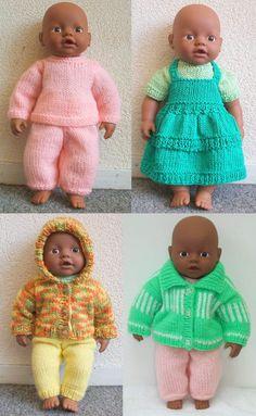 """""""My Little Babyborn"""" (32 cm) - http://www.breienmetplezier.nl/images/kleinebabypop/littlebaby.pdf"""