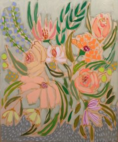 FLOWERS FOR NELL - 20X24 | Lulie Wallace