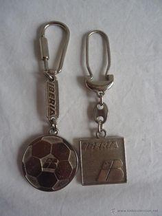 LLAVERO  IBERIA, UNO DE ELLOS DEL MUNDIAL DEL 82 DE FUTBOL