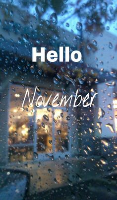 Great Hello November U2026