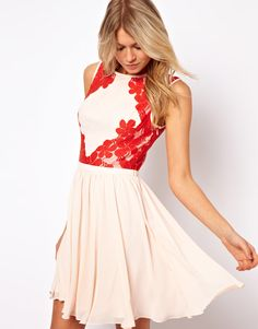 Ted Baker dress with lace