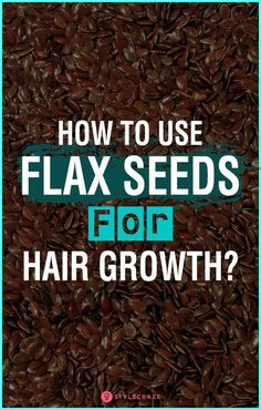 Hair Remedies How To Use Flax Seeds For Hair Growth? - Do you know that there are homemade treatments to speed up the hair growth process? One such treatment is using flax seeds for hair growth. Natural Hair Growth Treatment, Hair Remedies For Growth, Hair Growth Tips, Flax Seed Benefits, Oil Benefits, Health Benefits, Flaxseed Gel, Diy Hair Care, Growth Oil