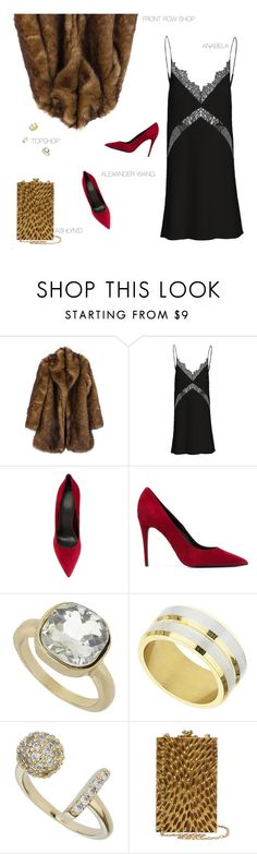 """""""SQUAD"""" by uncharged-batteries ❤ liked on Polyvore featuring Alexander Wang, Topshop, Ashlyn'd, women's clothing, women, female, woman, misses and juniors"""