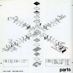 RNDRD is a frequently-updated partial index of architectural drawings and models scanned from design publications throughout the century. Architecture Concept Diagram, Architecture Graphics, Architecture Drawings, Architecture Portfolio, Architecture Details, Architecture Diagrams, Axonometric Drawing, 3d Modelle, Illustrations
