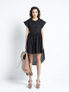IOANNA KOURBELA DRESS SHIRT COTTON DIAGRAM 20259-12052 Stylish Summer Outfits, Cotton Fabric, Photos, Short Sleeve Dresses, Girly, Shirt Dress, Boutique, Instagram, Sleeves