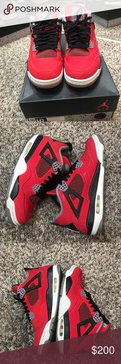 Air Jordan Retro 4 toros Selling authentic Air Jordan Retro 4 toros with box in men's sz 10. Air Jordan Shoes Sneakers