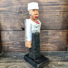 Angel by LaVon Williams Fallen Souls, April Showers, Folk Art, Jr, Carving, Angel, Painting, Popular Art, Wood Carvings