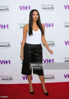 Actress Shay Mitchell attends the 5th Annual Streamy Awards at The Hollywood Palladium on September 17, 2015 in Los Angeles, California.