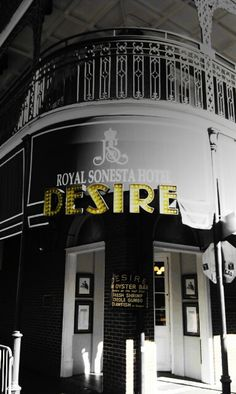 The Desire Lounge at the Royal Sonesta Hotel in New Orleans