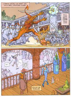 Moebius, aedena cycle 2001 #comics #illustrations #moebius