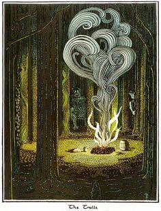 The Trolls ~ J.R.R. Tolkien