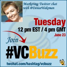 """""""How to be Everywhere"""" Twitter Chat with @DeniseWakeman #VCBuzz  Includes transcript with question & my answers"""