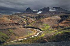 Belíssimas paisagens da Islândia por Kilian Schoenberger