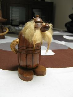 Retro Teak Gonk, Viking, Hans Bolling style, Asterix in Collectables, Vintage/ Retro, 1970s | eBay