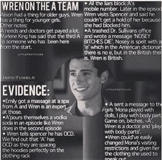 Good theory... I never suspected Wren until now.
