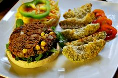 <p>Take a plain old burger and fries to the next level with a Mexican spin and some fresh baked 'cado fries.</p>