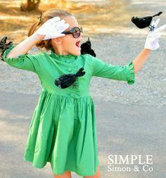 Halloween costume ideas - The Birds.  Genius!