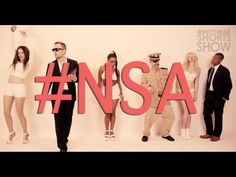 """The NSA Has A Sexy Little Music Video They'd Prefer You Don't Watch. EVER. ~ Not sure if you heard about the music video """"Blurred Lines"""" by Robin Thicke — but the NSA made a far more disturbing version. Enjoy!"""