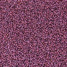 15/0 Cranberry Gold Luster Miyuki Seed Beads | Auntie's Beads