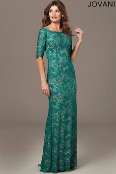 Boat Neck Lace Dress 25460