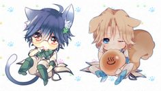 Atsushi & En, So fudging cute <3 by 甘味屋 on pixiv