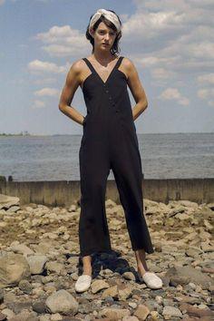 22f2b540d06 Wray Gamos Jumpsuit - Black Black Jumpsuit