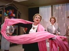 think Pink from Funny Face   Think Pink funny face Kay Thompson office fabric