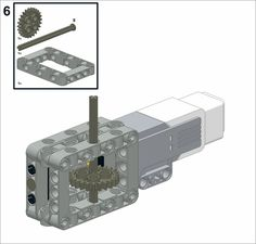 Worm gear For our next model, we will build a gearbox that contains a worm gear. Every time the worm gear makes one complete rotation, the spur or straight. Lego Wedo, Lego Mindstorms, Lego Technic, Lego Robot, Lego Toys, Robot Builder, Lego Gears, First Lego League, Robotics Club