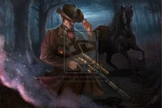 Doomtown - Lone Wolf by LarryWilson