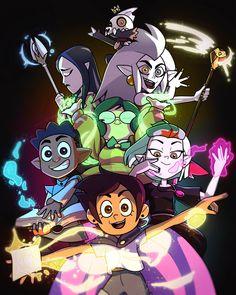 Cartoon Fan, Cartoon Shows, House Season 2, Pawer Rangers, Owl House, Disney Fan Art, Cartoon Wallpaper, Cute Drawings, Home Art