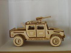 Small tank, apache or hummer model plywood laser cut kit or assembled model Hummer, Cardboard Car, Laser Cutter Ideas, Great Gifts For Men, Graffiti Lettering, Wood Glue, Wooden Toys, Etsy Shop, Model