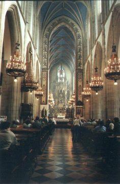 Wnętrze bazyliki św. Trójcy. #dominikanie #kraków #cracow #kościół #church #klasztor