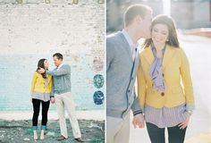 engagement.. love her outfit!