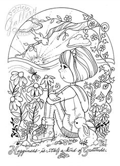 Coloring Book Pages Digital Download By PChristensenGallery