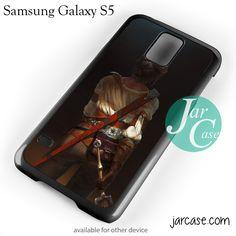 Ciri The Wild Witcher Phone case for samsung galaxy S3/S4/S5