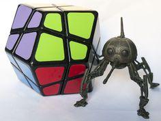 Solución Rubik: Dodecaedro romboide Skewb - Skewb Rhombic Dodecahe...