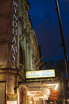 Wyndham's Theatre, Charing Cross Rd, Westminster, London