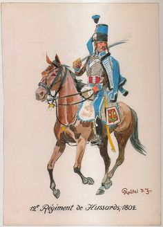 French; 12th Hussars, 1802