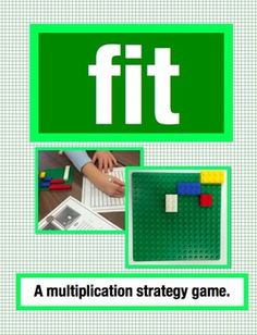 (FREE) Fit: A Multiplication Strategy Game Using Arrays (Grades 2-5) A free game that includes set up, recording sheet and instructions for regulation and challenge mode.  This is a super fun and motivating way for students to learn their multiplication facts.