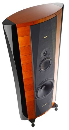 ~ Living a Beautiful Life ~ This sonus Faber stradivari uses a mix of different materials, from wood to metal. It has been effectively used to build up a traditional look while producing sounds, with the most cutting edge technology.