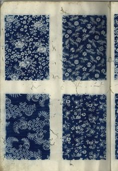 Samples of fabric for wrapping kimono, Japan, c17th