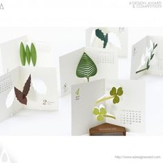 "A' Design Award and Competition - Calendar 2014 ""botanical Life"" Calendar Press Kit"