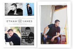 Urban Edge Grad Card Templates by Jamie Schultz Designs