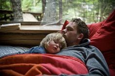 Patrick J. Adams with Gabriel Macht's daughter. *dies a little* I don't know where this was taken. But it looks like a lovely place to be.