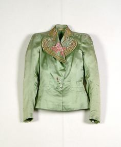 Evening jacket (image 1) | House of Schiaparelli | French | summer 1939 | silk, metallic, beads | Brooklyn Museum Costume Collection at The Metropolitan Museum of Art | Accession Number: 2009.300.3942