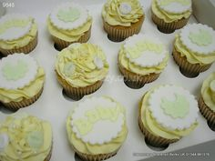 Baby Shower Cupcakes  http://www.cakescrazy.co.uk/details/baby-shower-cupcakes-9645.html
