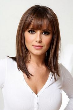 hairstyles for medium length hair with bangs and layers and medium hairstyles with bangs for thick hair