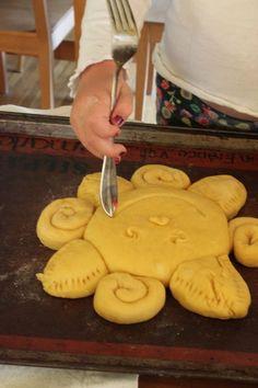 Winter Solstice- Sun bread. Celebrate the return of the sun with this fun recipe!
